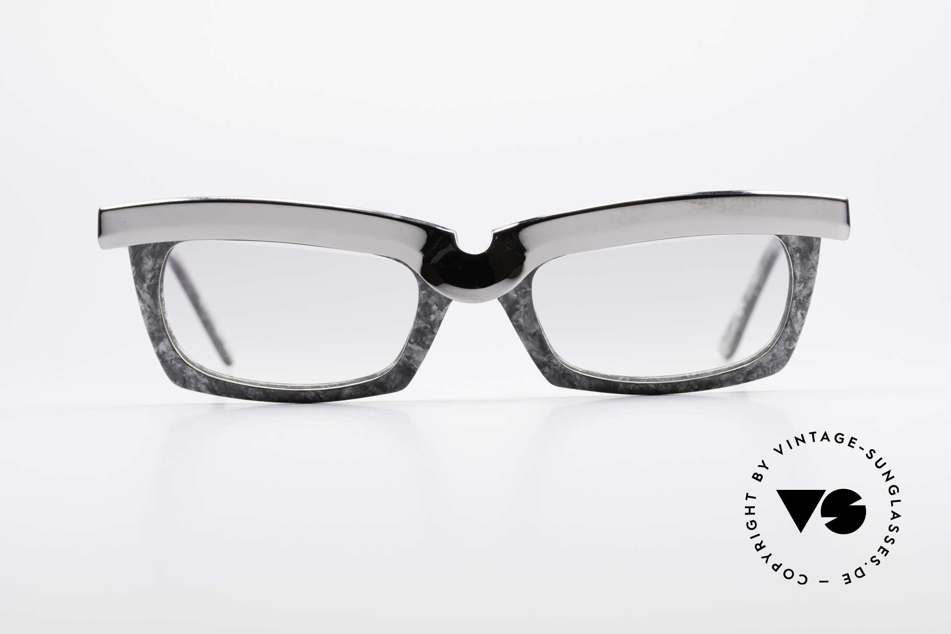 Alain Mikli 611 / 021 Spectacular 80's Sunglasses, spectacular frame construction with terrific pattern, Made for Men and Women