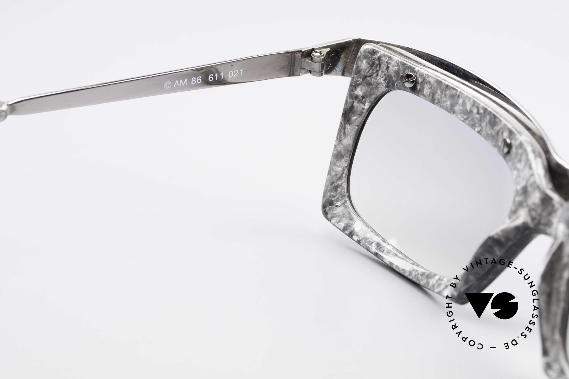 Alain Mikli 611 / 021 Spectacular 80's Sunglasses, NO retro specs, but a precious 30 years old ORIGINAL, Made for Men and Women