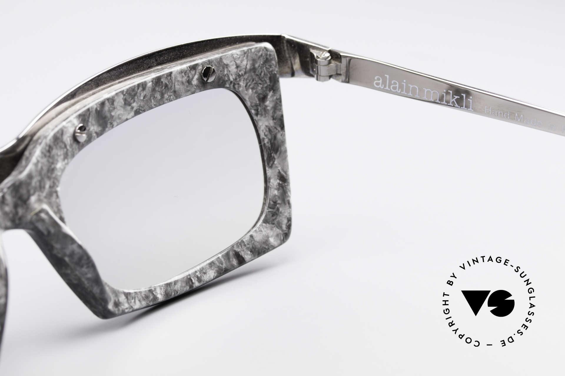 Alain Mikli 611 / 021 Spectacular 80's Sunglasses, lenses could be replaced with prescriptions, if needed, Made for Men and Women