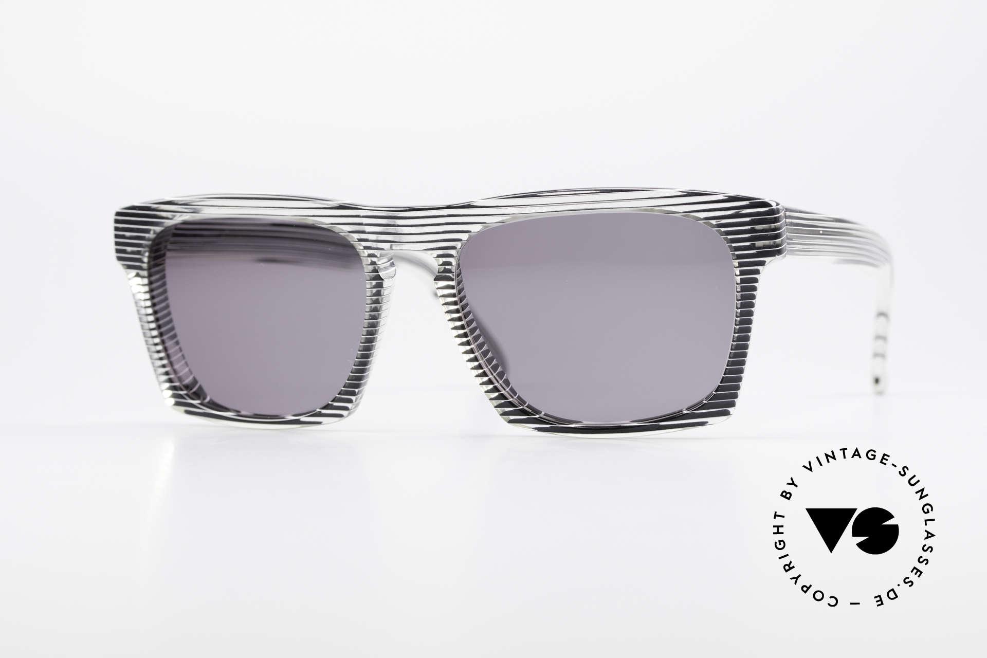 Alain Mikli 707 / 986 Unique Designer Sunglasses, vintage ALAIN MIKLI designer sunglasses from 1986, Made for Men and Women