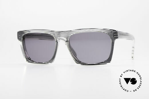 Alain Mikli 707 / 986 Unique Designer Sunglasses Details