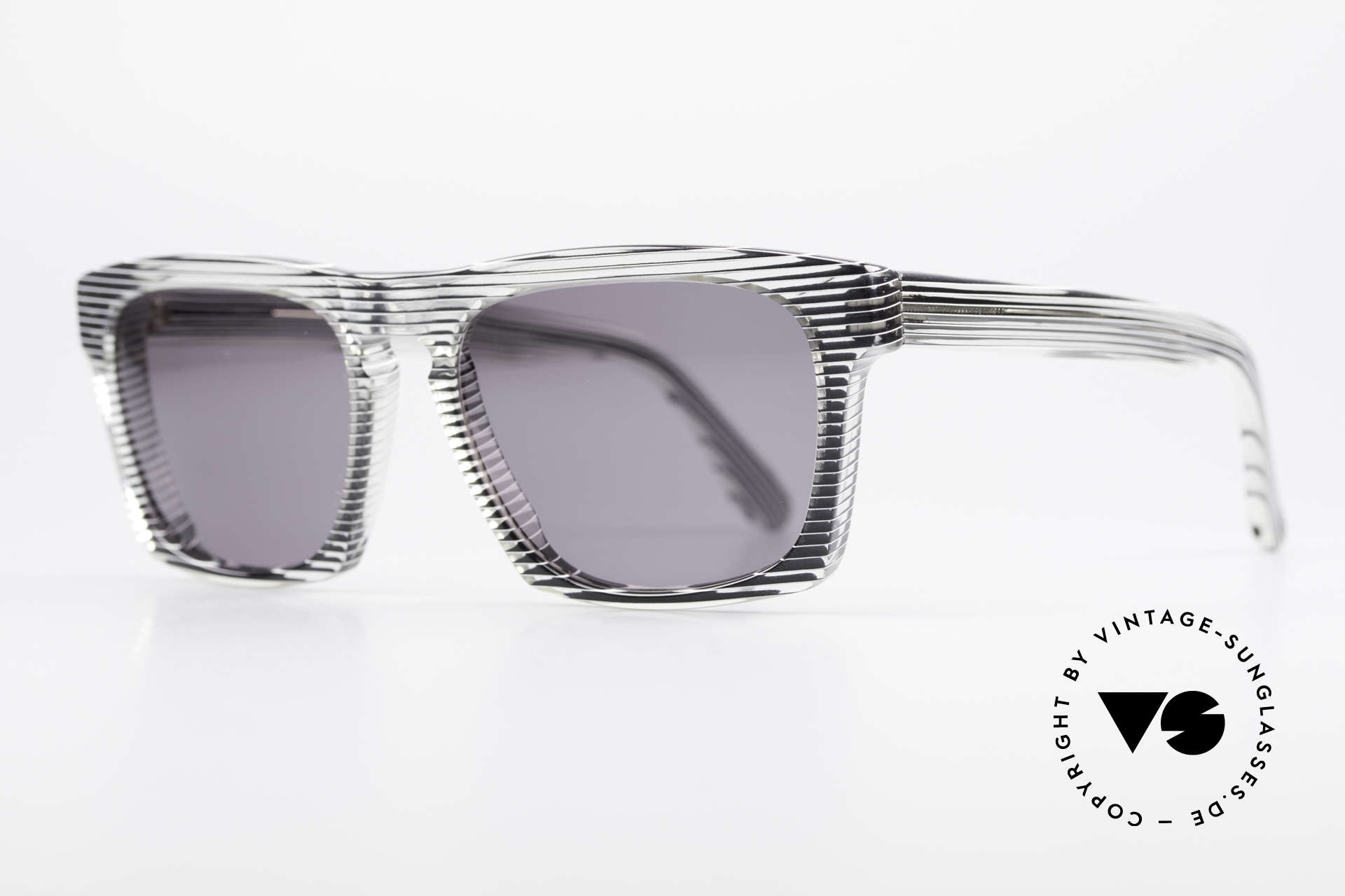 Alain Mikli 707 / 986 Unique Designer Sunglasses, with gray tinted sun lenses (for 100% UV protection), Made for Men and Women