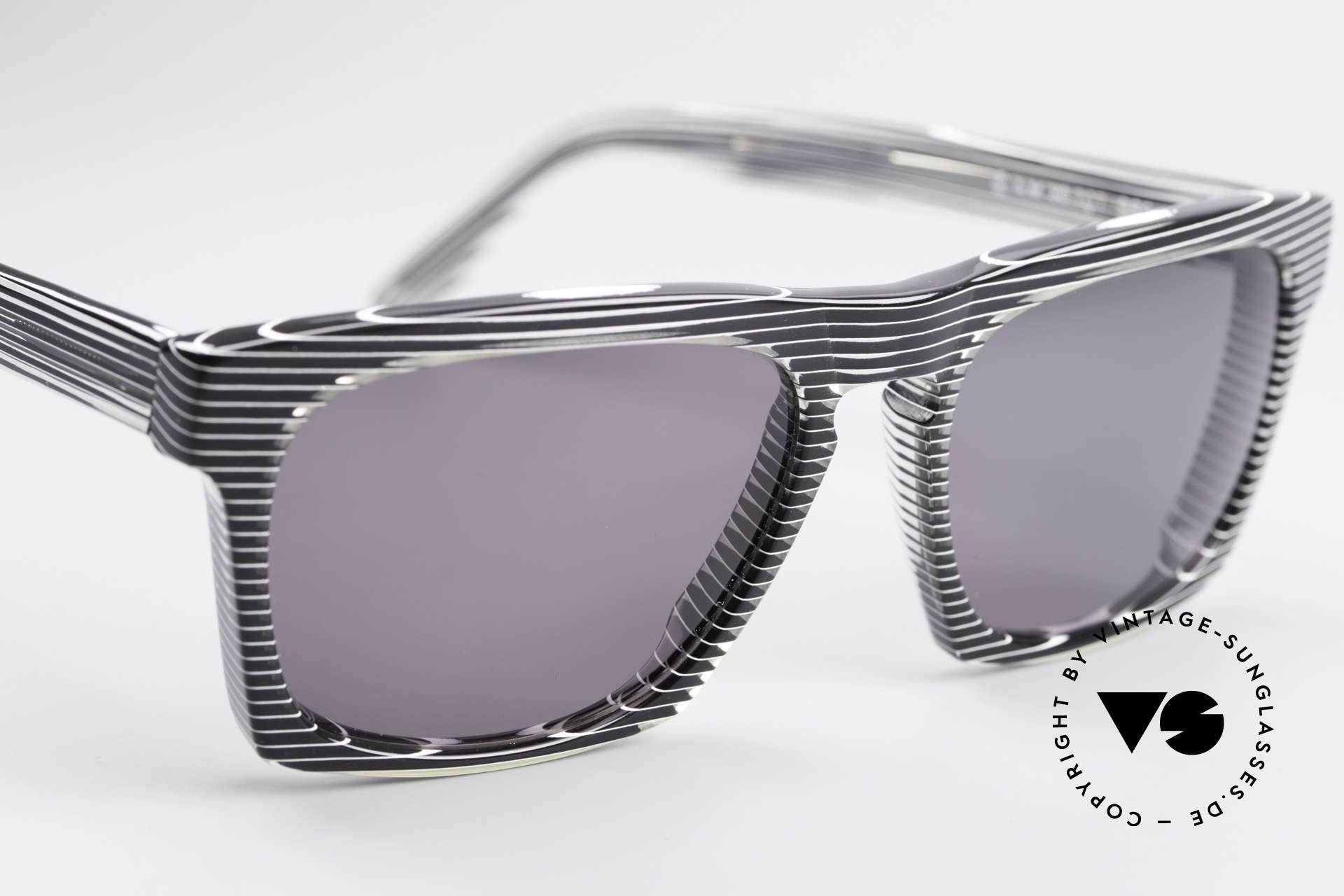 Alain Mikli 707 / 986 Unique Designer Sunglasses, NO retro specs, but a precious 30 years old ORIGINAL, Made for Men and Women