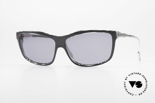 Alain Mikli 701 / 986 Rare 80s Designer Sunglasses Details