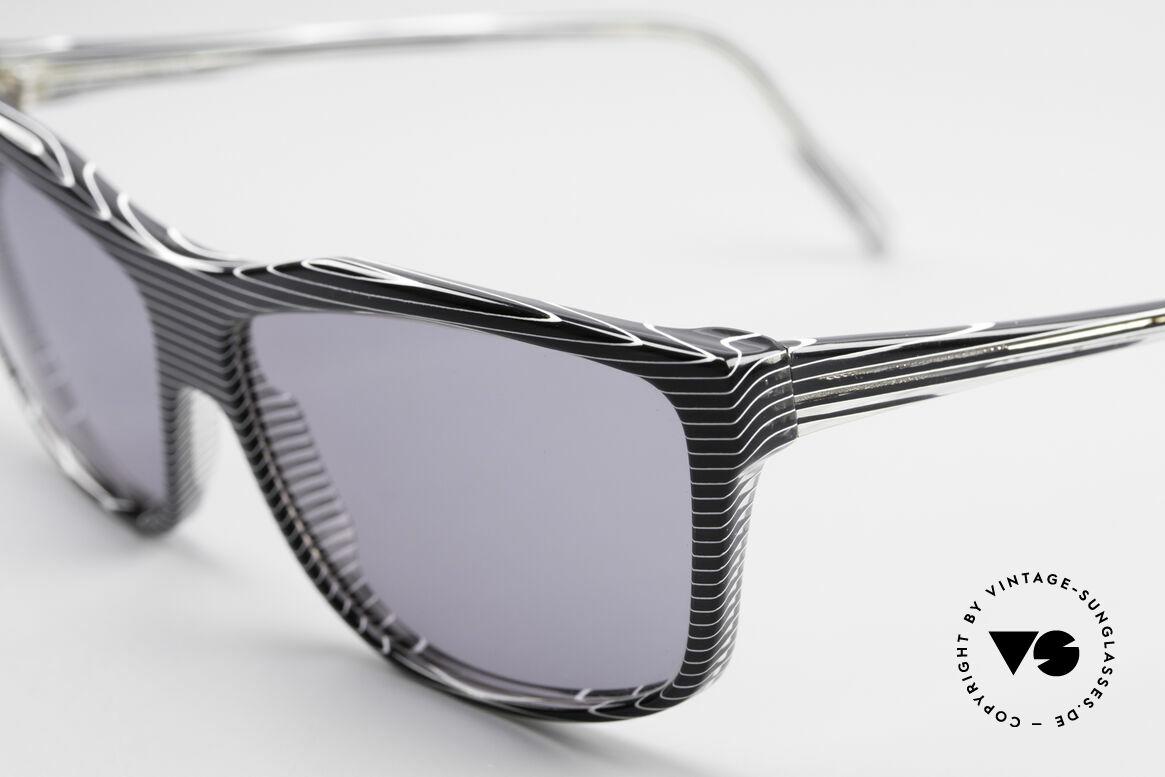 Alain Mikli 701 / 986 Rare 80s Designer Sunglasses, unworn (like all our vintage Alain MIKLI Paris frames), Made for Women