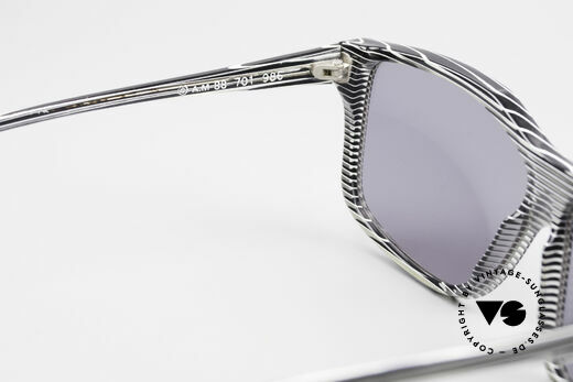 Alain Mikli 701 / 986 Rare 80s Designer Sunglasses, lenses could be replaced with prescriptions, if needed, Made for Women