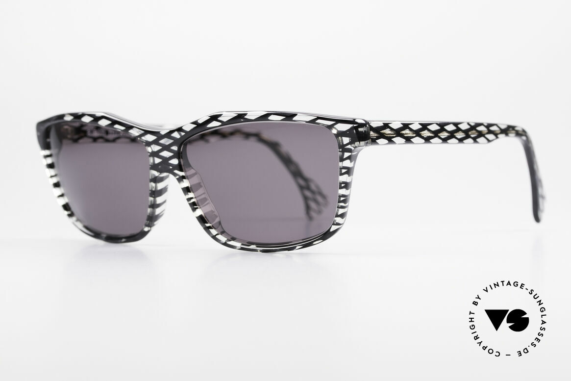 Alain Mikli 701 / 280 Designer Sunglasses Ladies, with gray tinted sun lenses (for 100% UV protection), Made for Women
