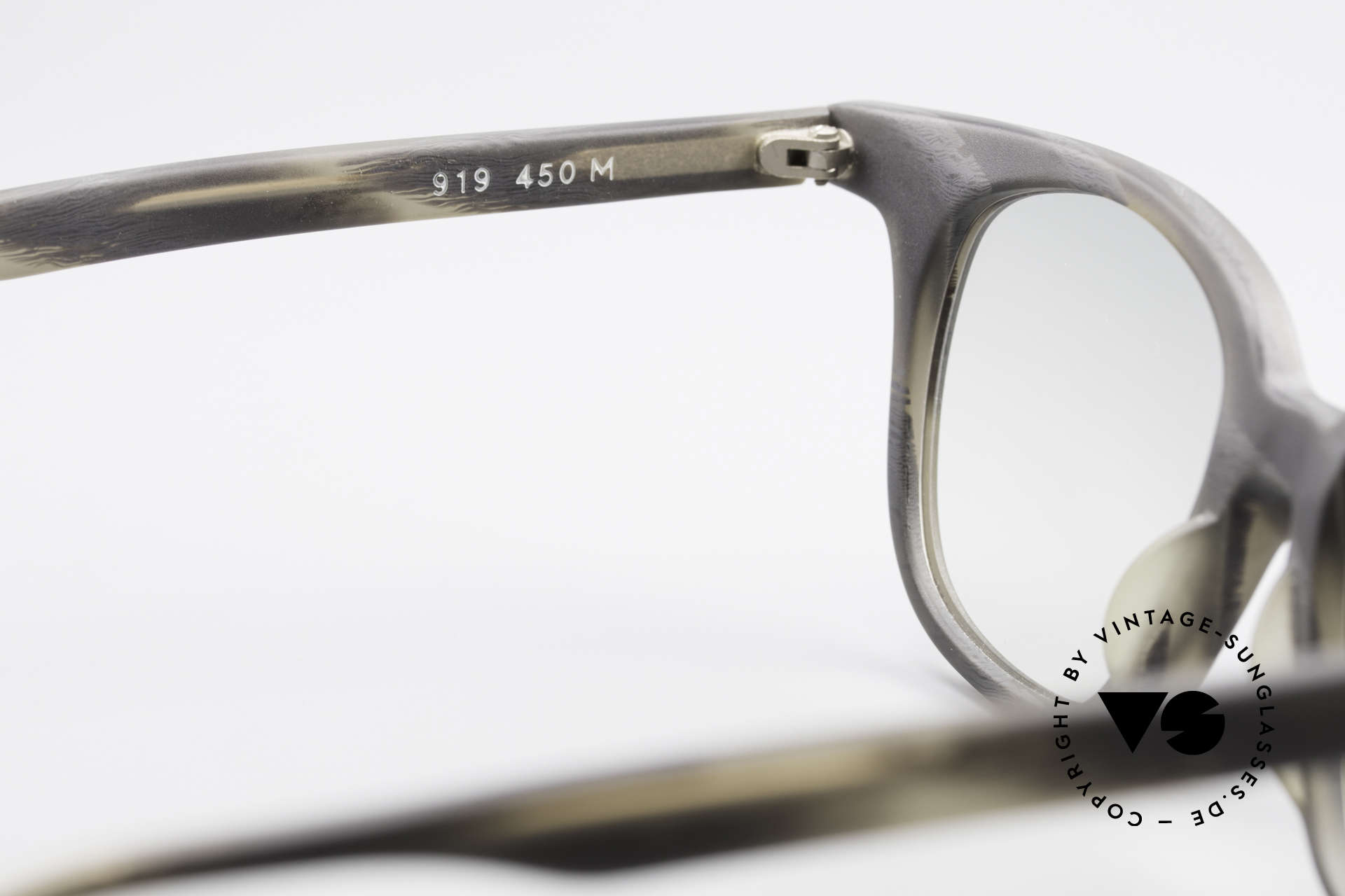 Alain Mikli 919 / 450 Square Panto Sunglasses, NO retro fashion, but a rare 30 years old original!, Made for Men and Women