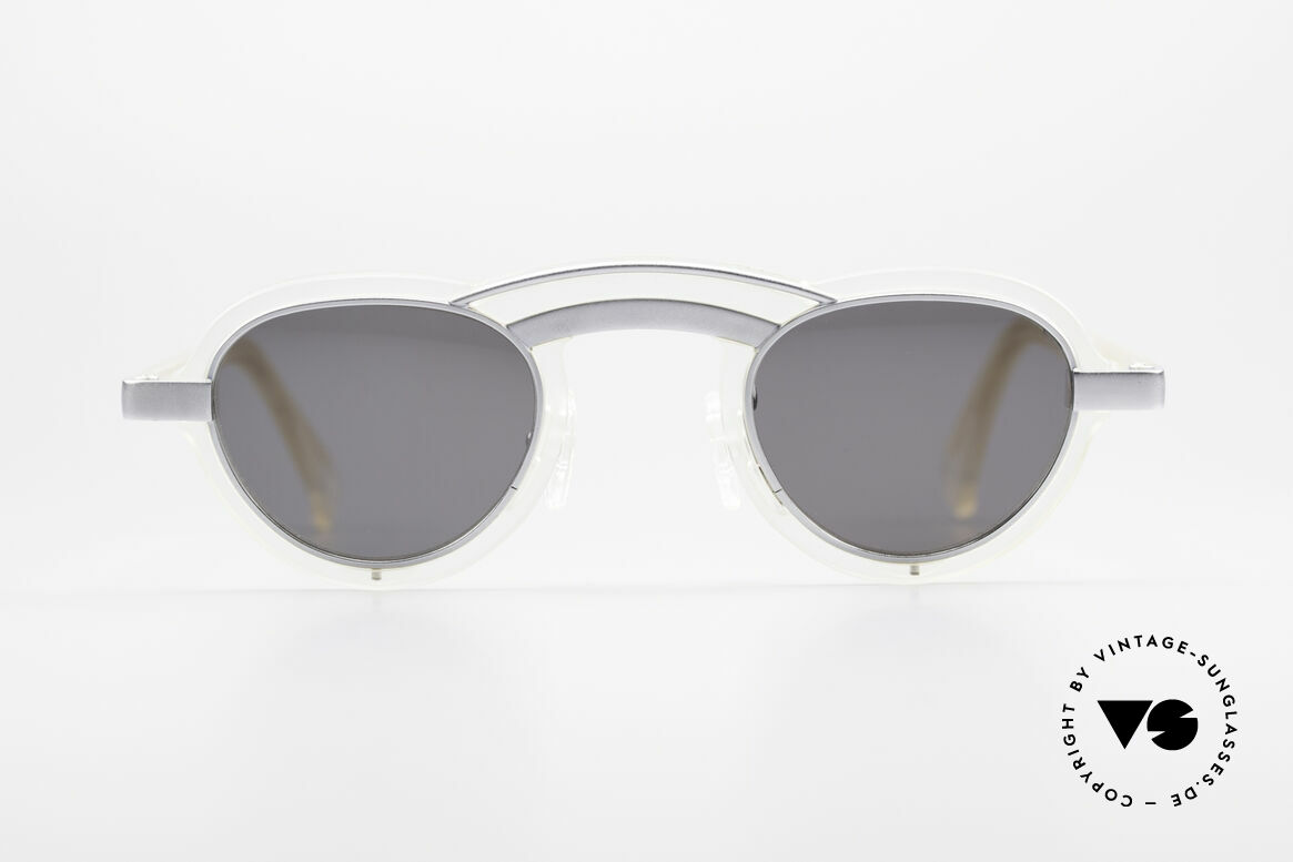 Alain Mikli 5107 / 0506 80's Designer Sunglasses, a creation made by the famous designer Alain Mikli, Made for Men and Women