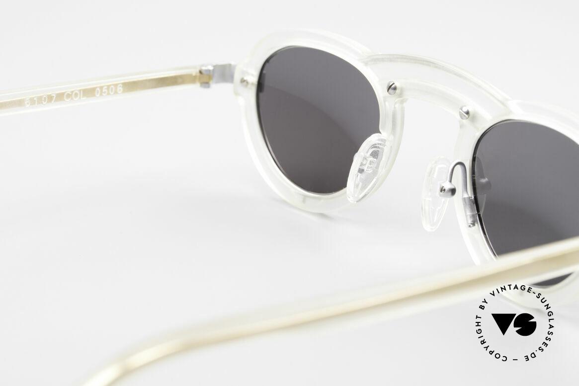 Alain Mikli 5107 / 0506 80's Designer Sunglasses, unworn, small rarity from 1989 (NO RETRO shades), Made for Men and Women