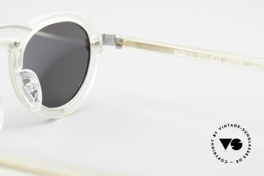 Alain Mikli 5107 / 0506 80's Designer Sunglasses, frame could be glazed with prescriptions optionally, Made for Men and Women