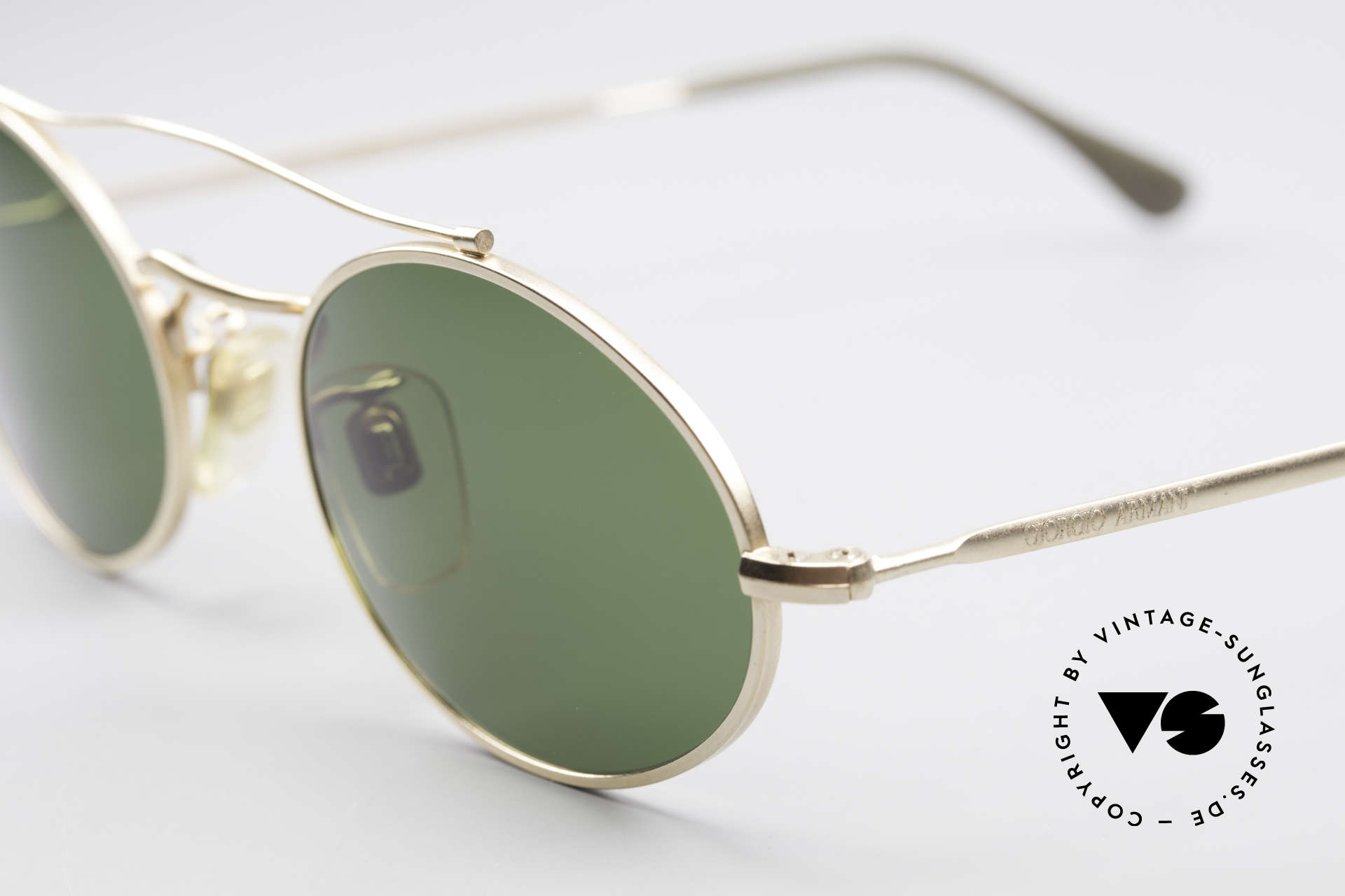 Giorgio Armani 115 90's Designer Sunglasses, unworn rarity (like all our vintage Armani frames), Made for Men and Women