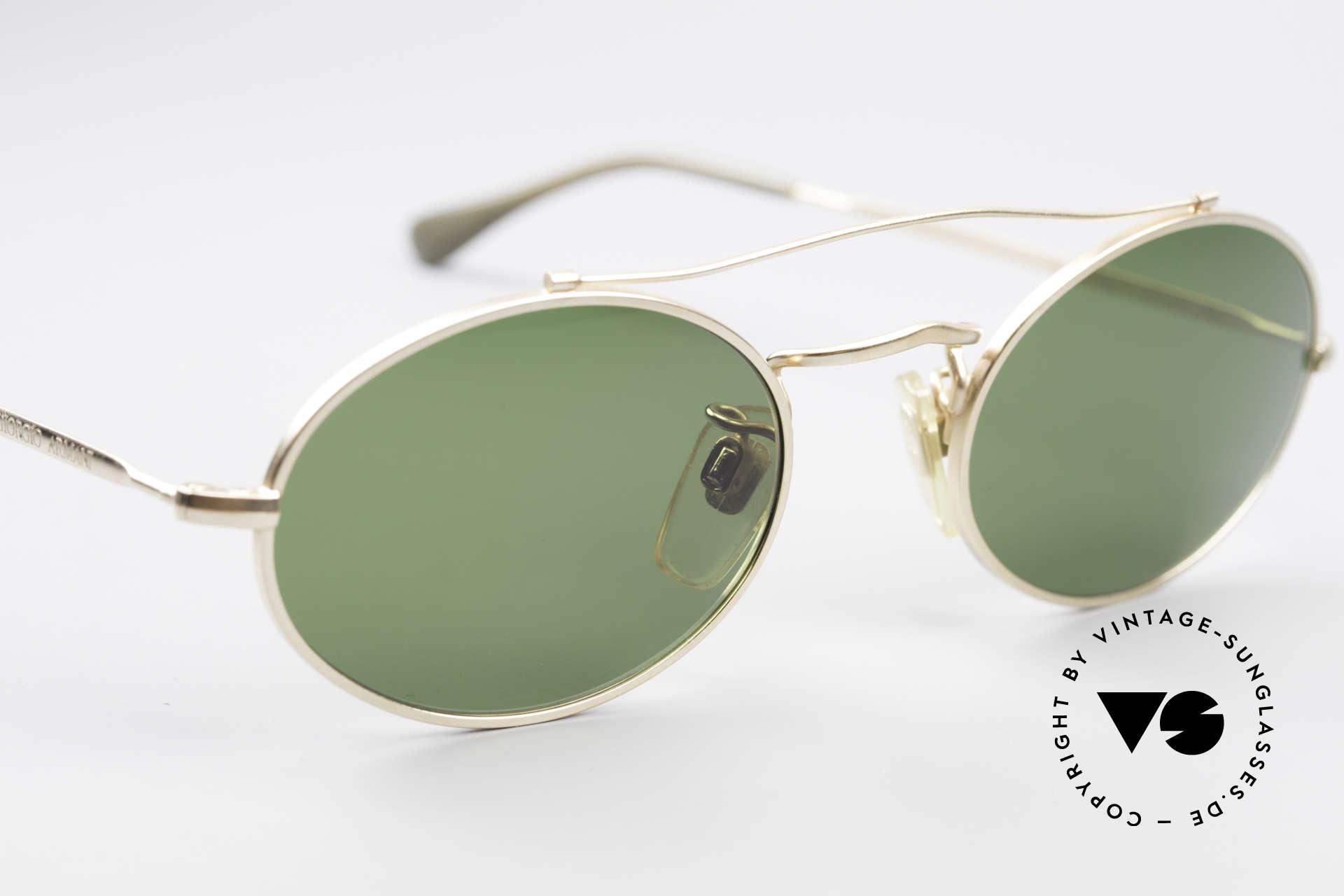 Giorgio Armani 115 90's Designer Sunglasses, NO RETRO GLASSES, but an old original from 1990, Made for Men and Women