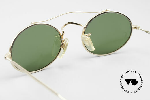 Giorgio Armani 115 90's Designer Sunglasses, frame could be glazed with prescriptions optionally, Made for Men and Women