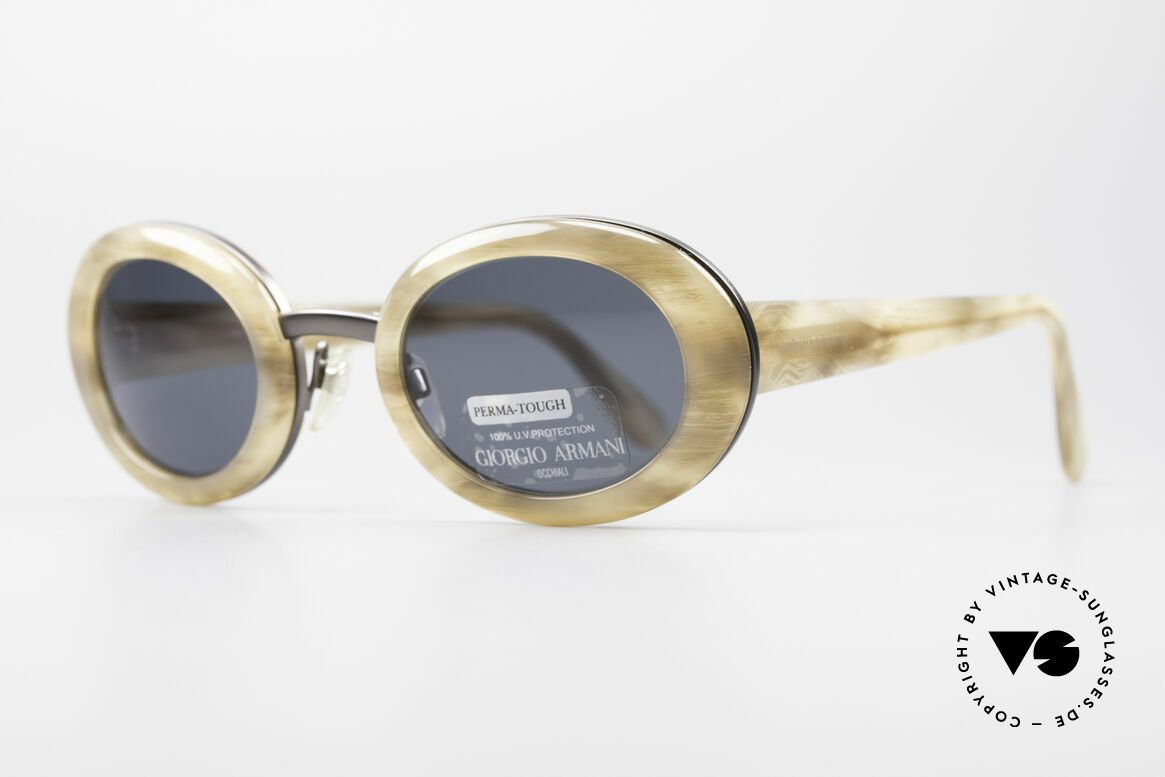 Giorgio Armani 945 90's Designer Shades Ladies, really interesting designer piece (Jackie Onassis Style), Made for Women
