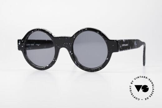 Giorgio Armani 903 Round Designer Sunglasses Details
