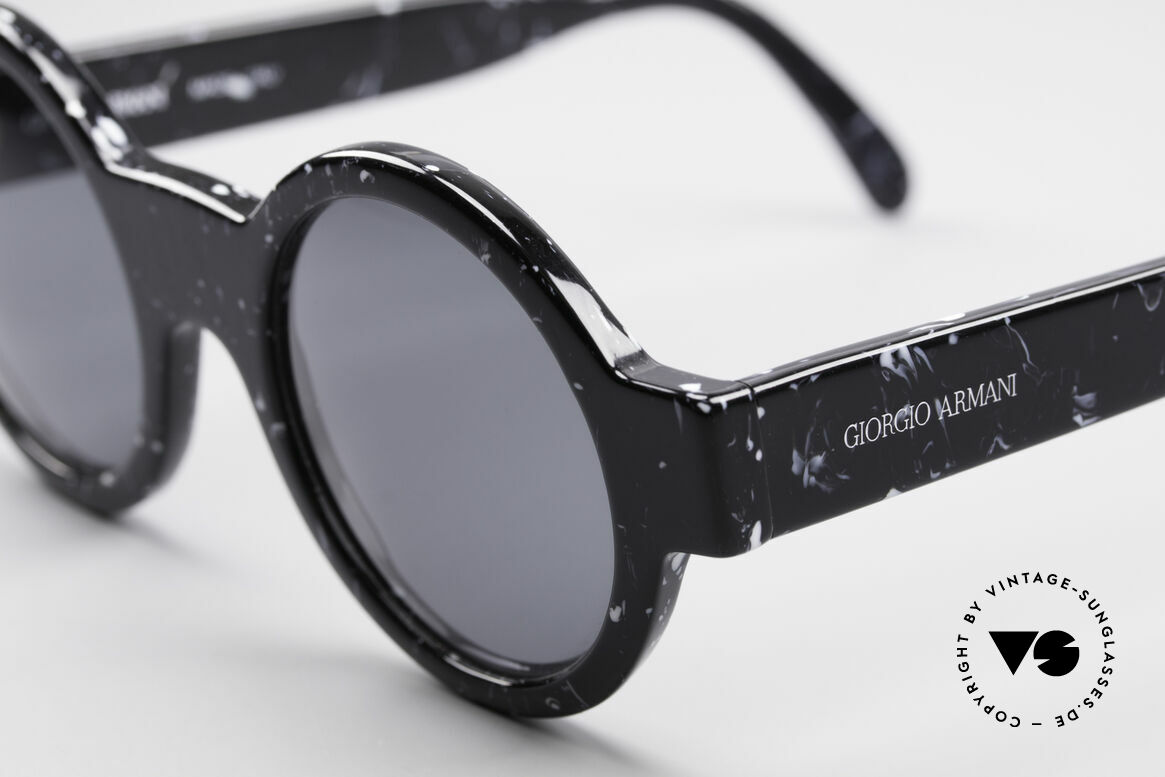 Giorgio Armani 903 Round Designer Sunglasses, never worn (like all our vintage GA sunglasses), Made for Men and Women