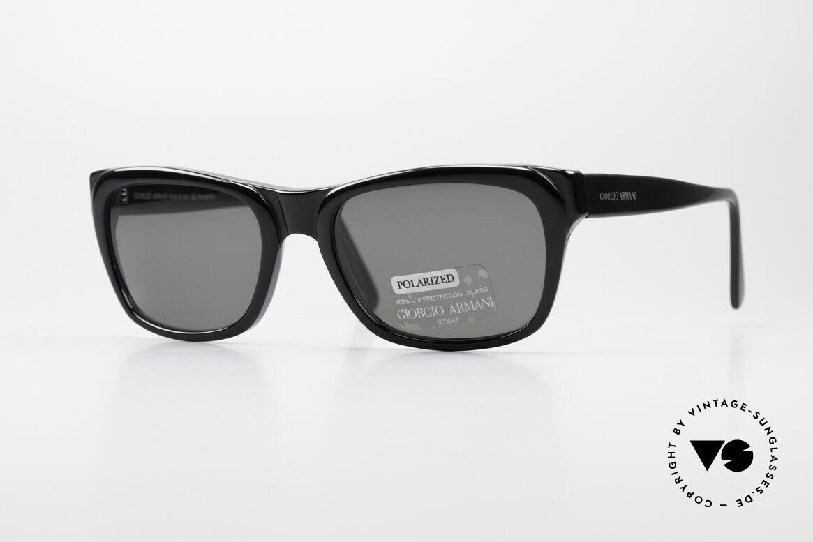 Giorgio Armani 846 90's Designer Shades Polarized, classic 1990's designer sunglasses by GIORGIO Armani, Made for Men and Women