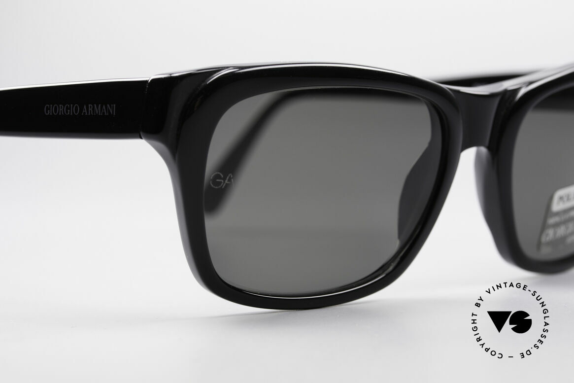 Giorgio Armani 846 90's Designer Shades Polarized, NO RETRO sunglasses, but an app. 20 years old original, Made for Men and Women