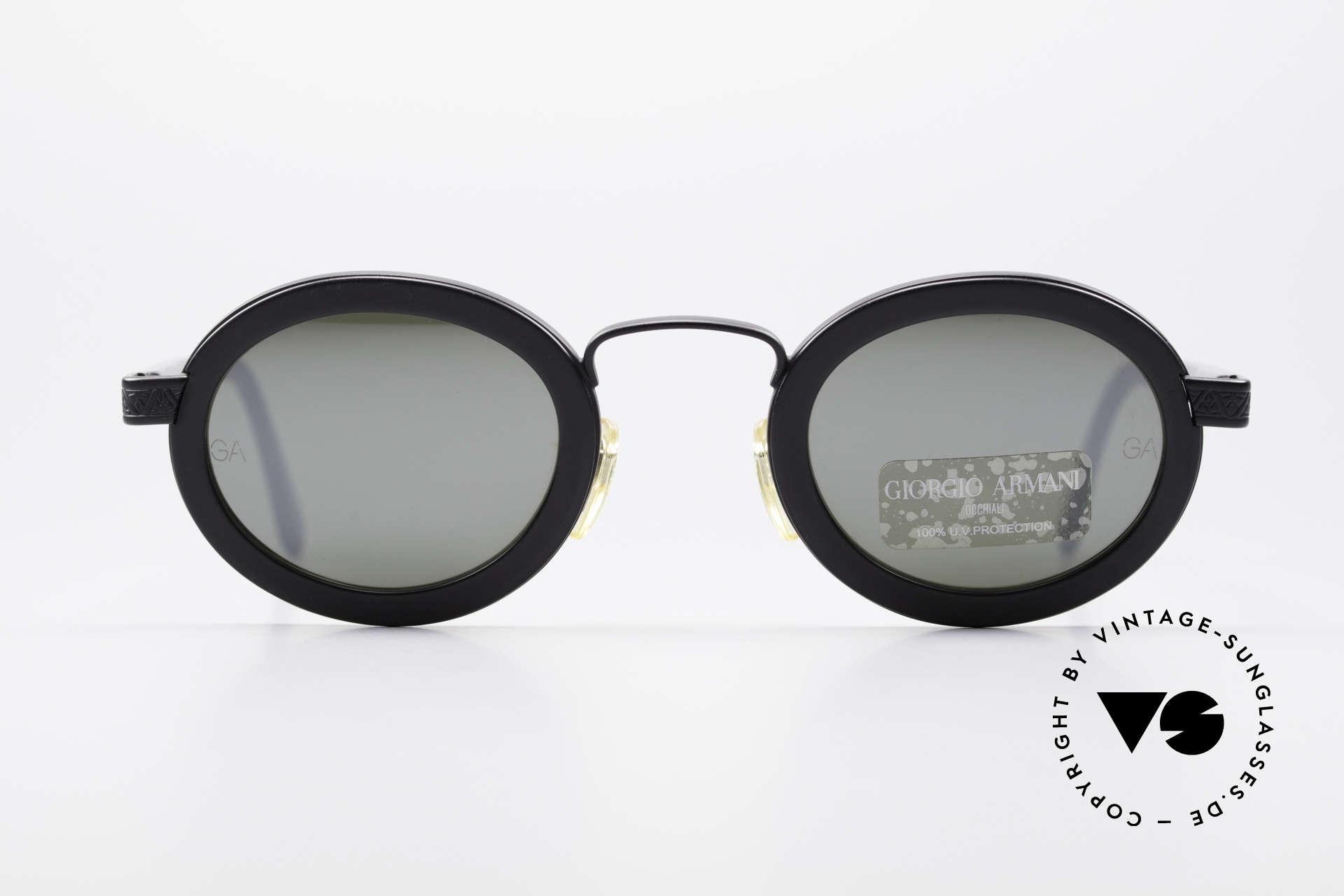 7bd3b18f2ac Sunglasses Giorgio Armani 631 Oval 90s Sunglasses Mirrored