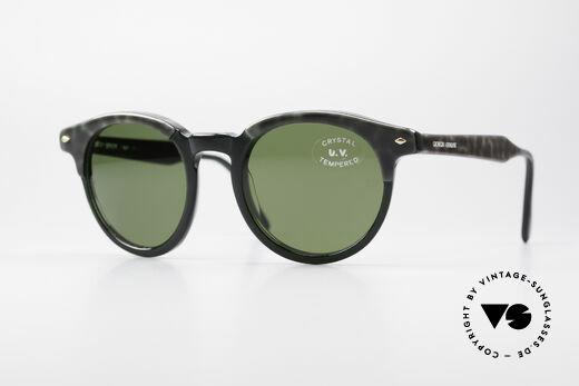 Giorgio Armani 901 Johnny Depp Sunglasses Details
