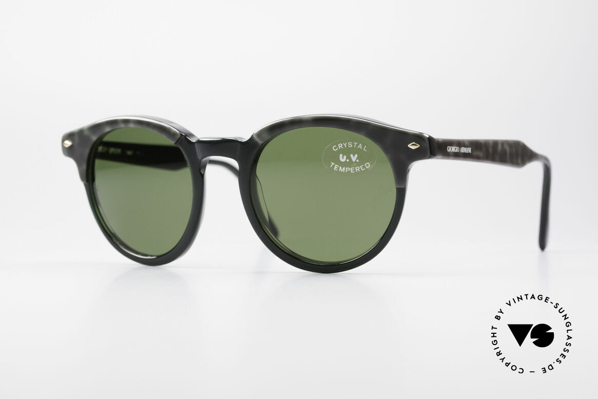 Giorgio Armani 901 Johnny Depp Sunglasses, timeless Giorgio Armani designer sunglasses from Italy, Made for Men