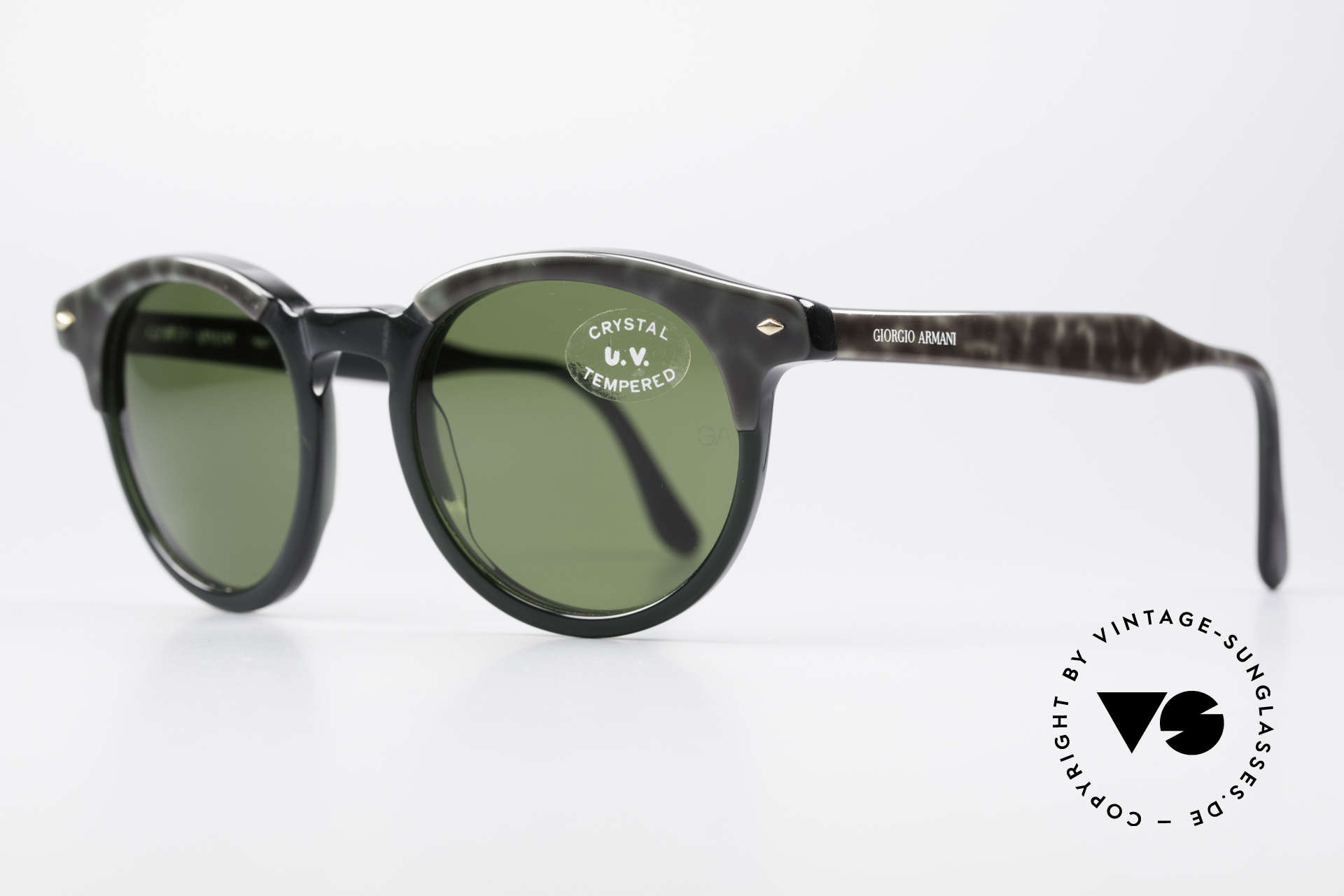 Giorgio Armani 901 Johnny Depp Sunglasses, inspired by the 'Tart Optical Arnel' frames of the 1960's, Made for Men