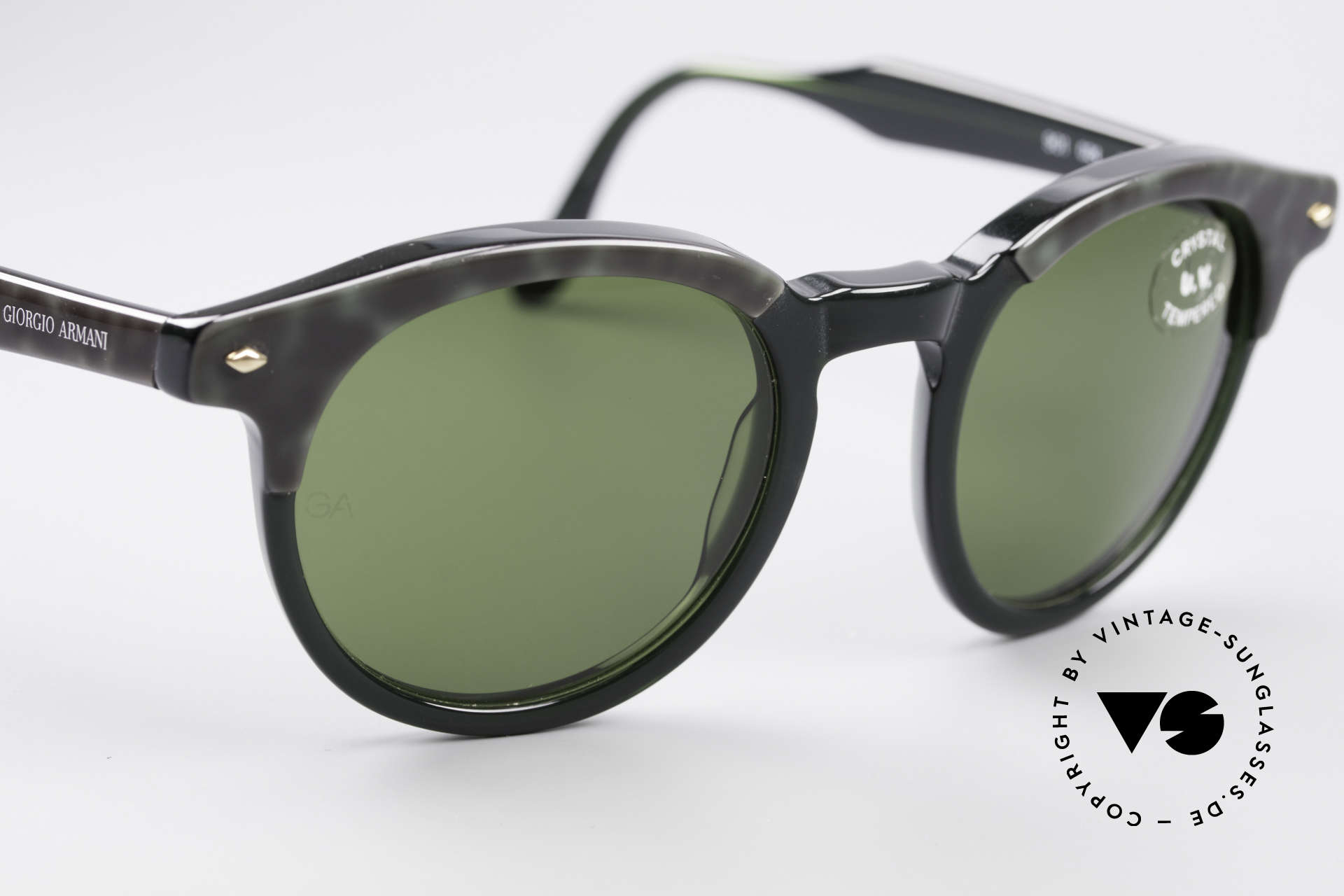 Giorgio Armani 901 Johnny Depp Sunglasses, never worn (like all our vintage Giorgio Armani shades), Made for Men