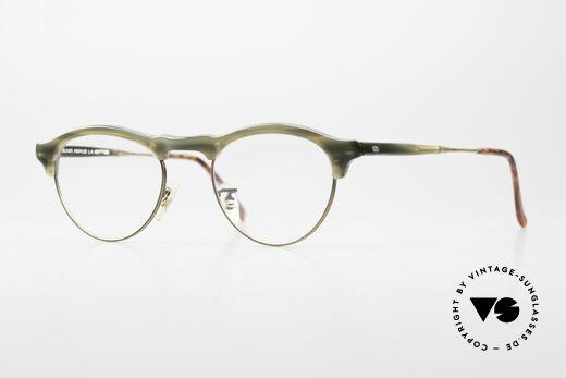 Oliver Peoples OP24 Rare 80's Designer Frame Details