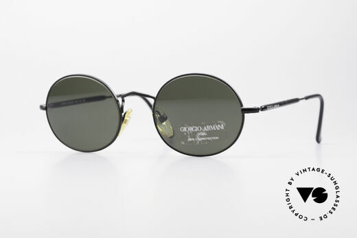 Giorgio Armani 172 No Retro Oval Sunglasses Details