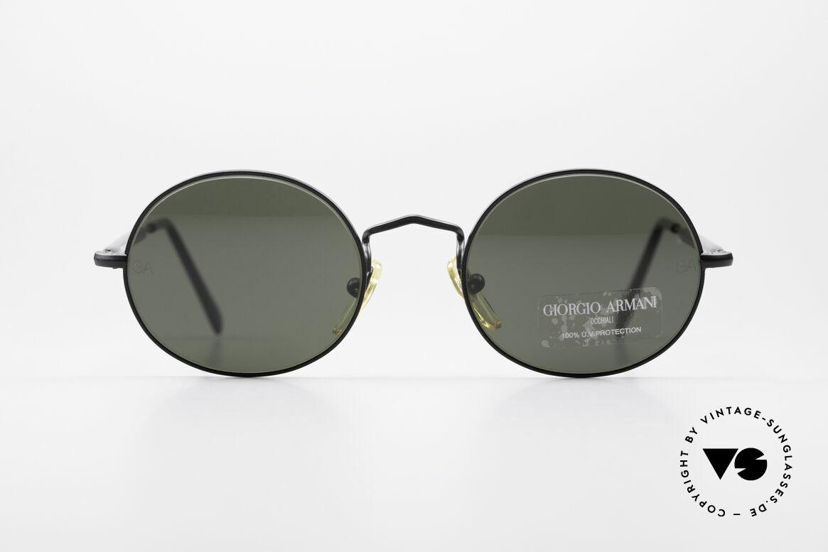 Giorgio Armani 172 No Retro Oval Sunglasses, vintage designer sunglasses by Giorgio Armani, Italy, Made for Men and Women