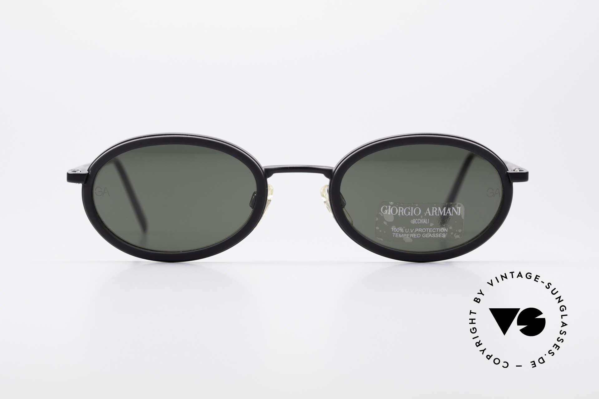 0d6c7cf43cde Sunglasses Giorgio Armani 258 Oval Vintage Sunglasses   Vintage ...