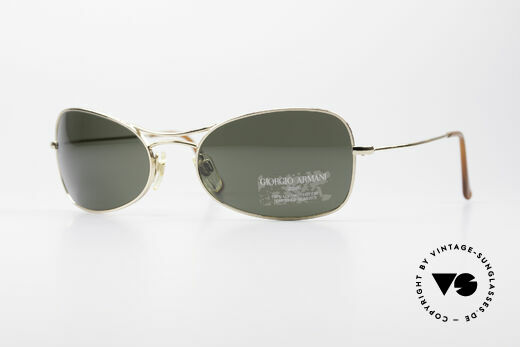 Giorgio Armani 660 Vintage Designer Sunglasses Details