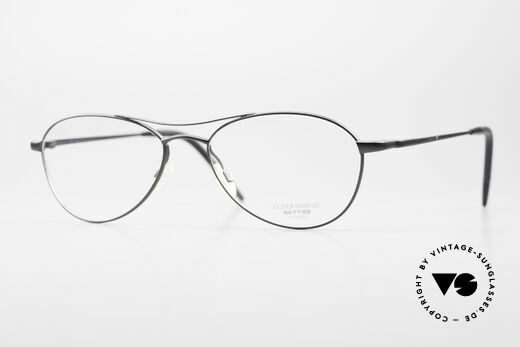 Oliver Peoples Aero Extraordinary Aviator Glasses Details