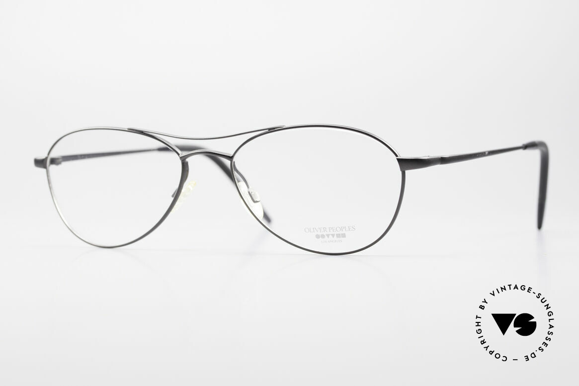 Oliver Peoples Aero Extraordinary Aviator Glasses, Oliver Peoples eyeglasses, model 'Aero' of the 90's, Made for Men