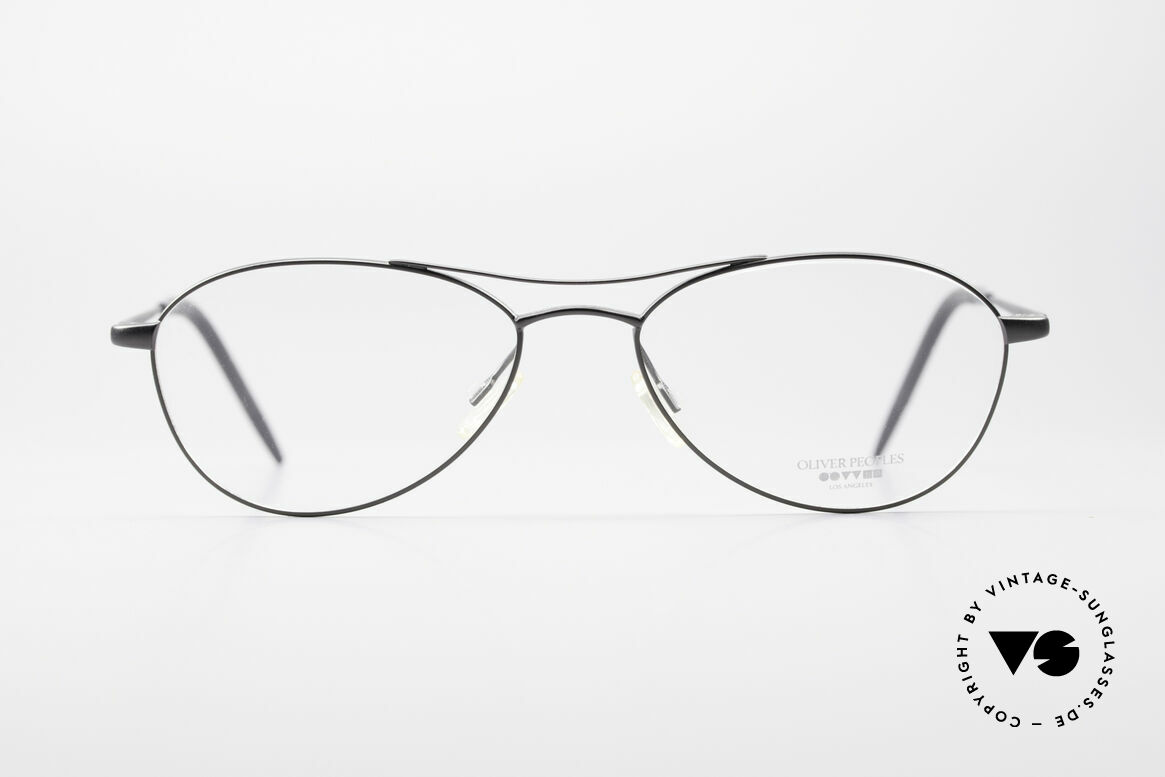 "Oliver Peoples Aero Extraordinary Aviator Glasses, extraordinary ""aviator frame design"" in anthracite, Made for Men"