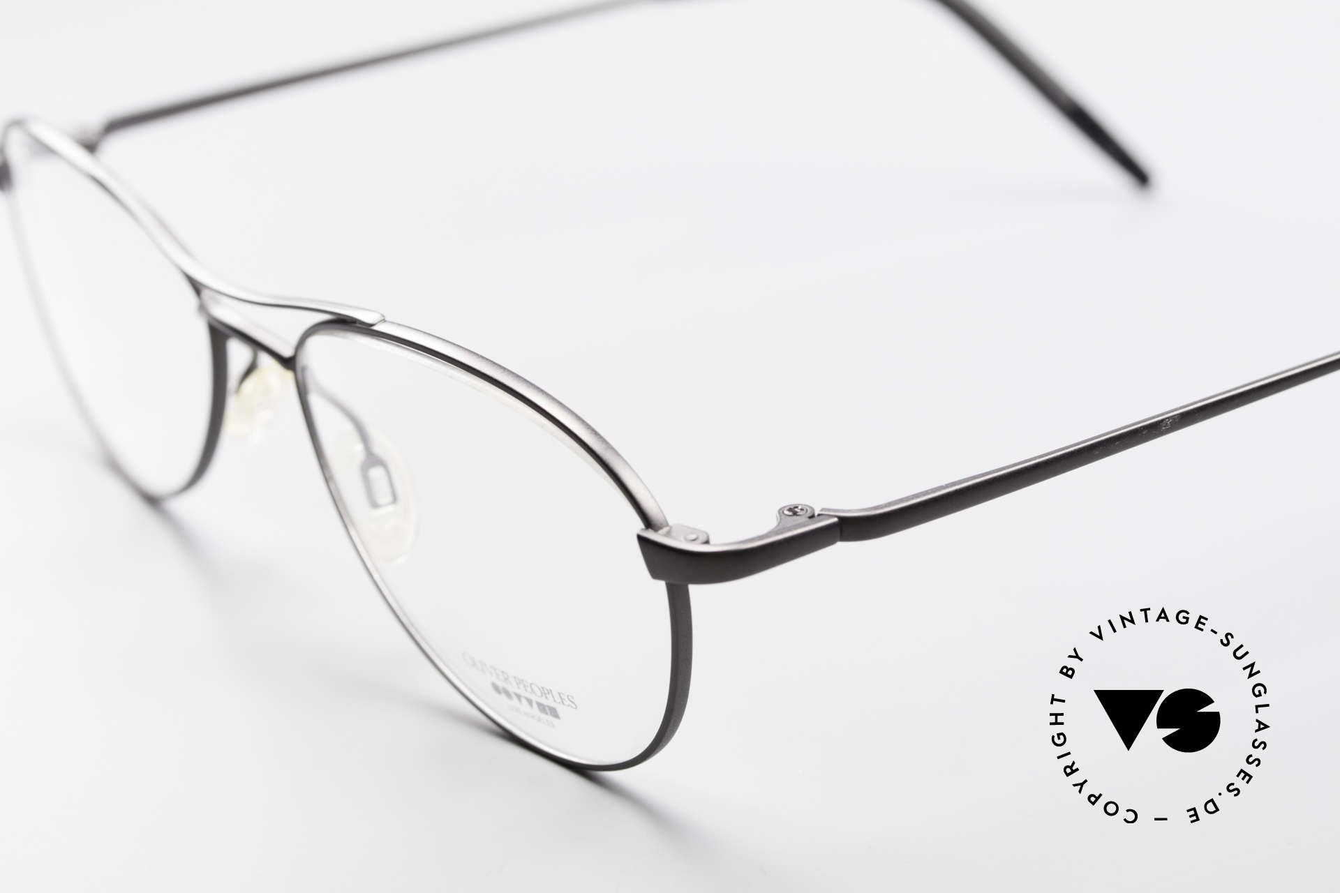 Oliver Peoples Aero Extraordinary Aviator Glasses, combined with the intellectual styling of the 1960's, Made for Men
