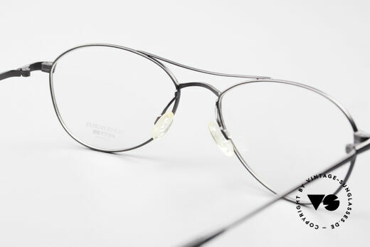 Oliver Peoples Aero Extraordinary Aviator Glasses, NO RETRO fashion, but a unique 25 years old Original, Made for Men