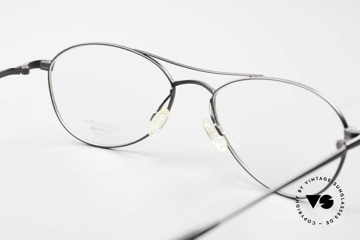 Oliver Peoples Aero Extraordinary Aviator Glasses