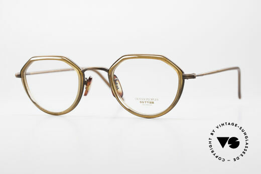 Oliver Peoples OP89 Vintage Glasses Ladies Gents Details