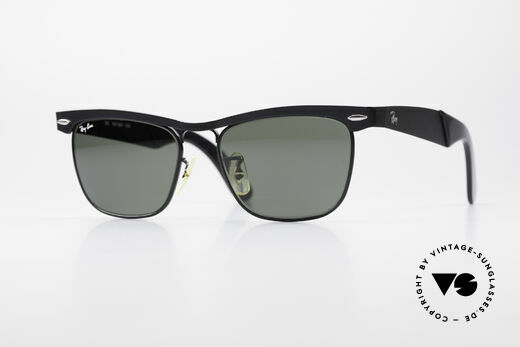Ray Ban Wayfarer Metal USA B&L Original 80's Shades Details