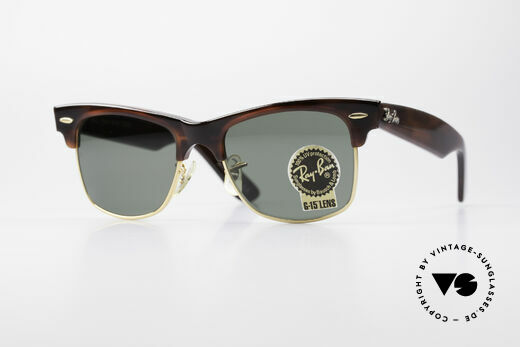 Ray Ban Wayfarer Max B&L USA Original Sunglasses Details