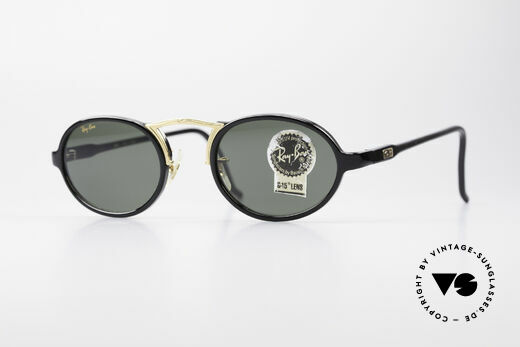 Ray Ban Cheyenne Style III B&L USA Sunglasses Oval Details