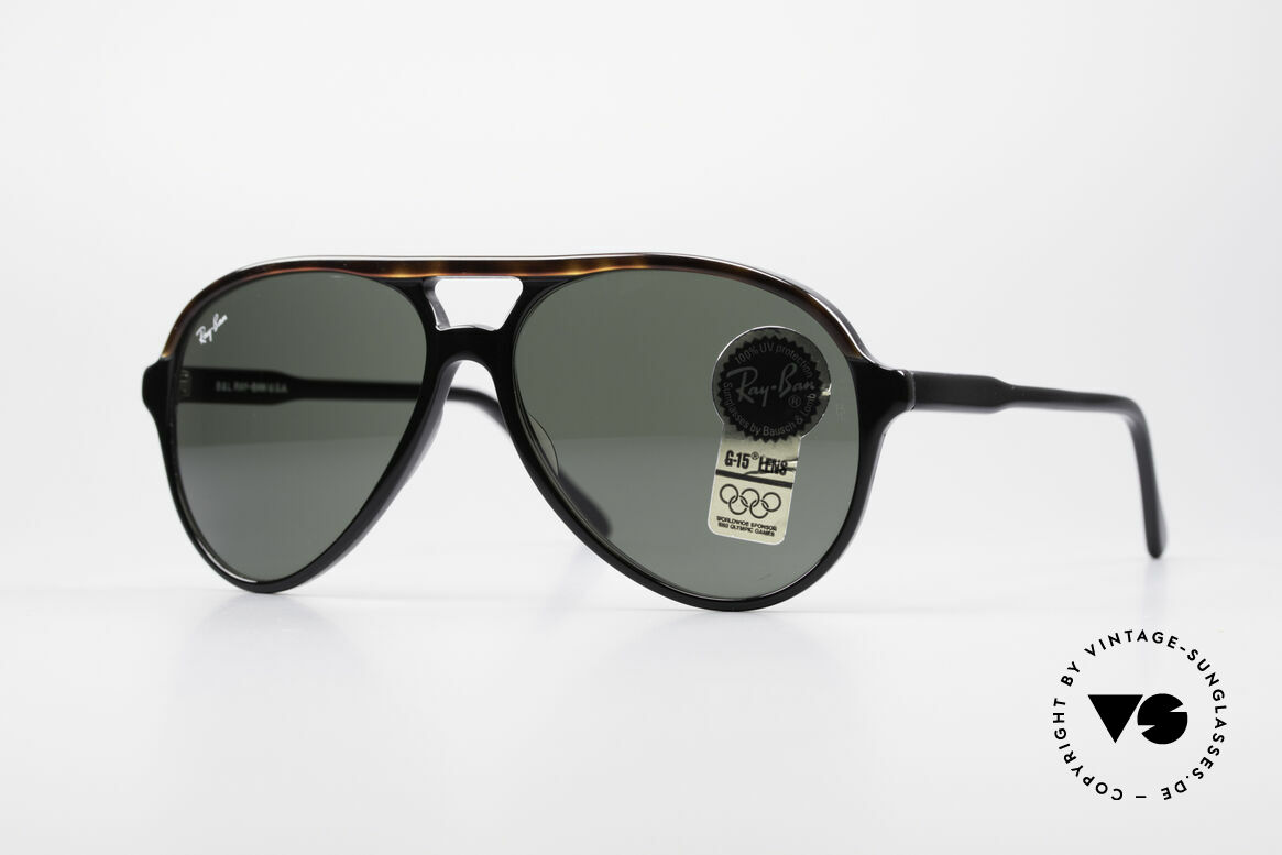 Ray Ban Traditionals Style A Old Aviator Sunglasses USA, old B&L USA vintage sunglasses from the early 90's, Made for Men