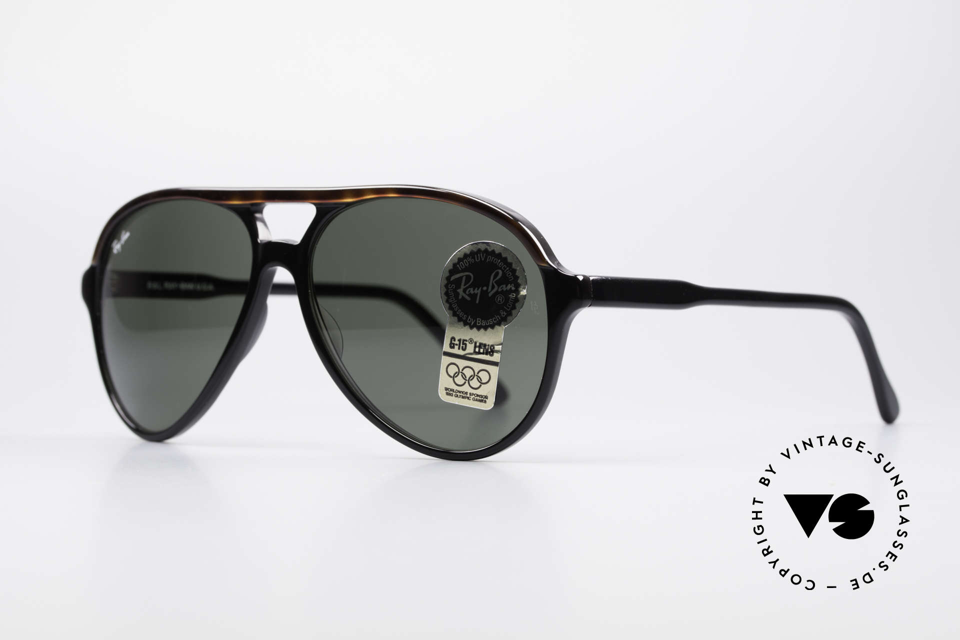 Ray Ban Traditionals Style A Old Aviator Sunglasses USA, top quality; mineral lenses  with the legendary B&L, Made for Men