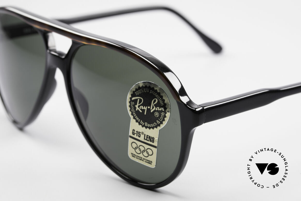 Ray Ban Traditionals Style A Old Aviator Sunglasses USA, unworn (like all our vintage U.S.A. RAY-BAN shades), Made for Men