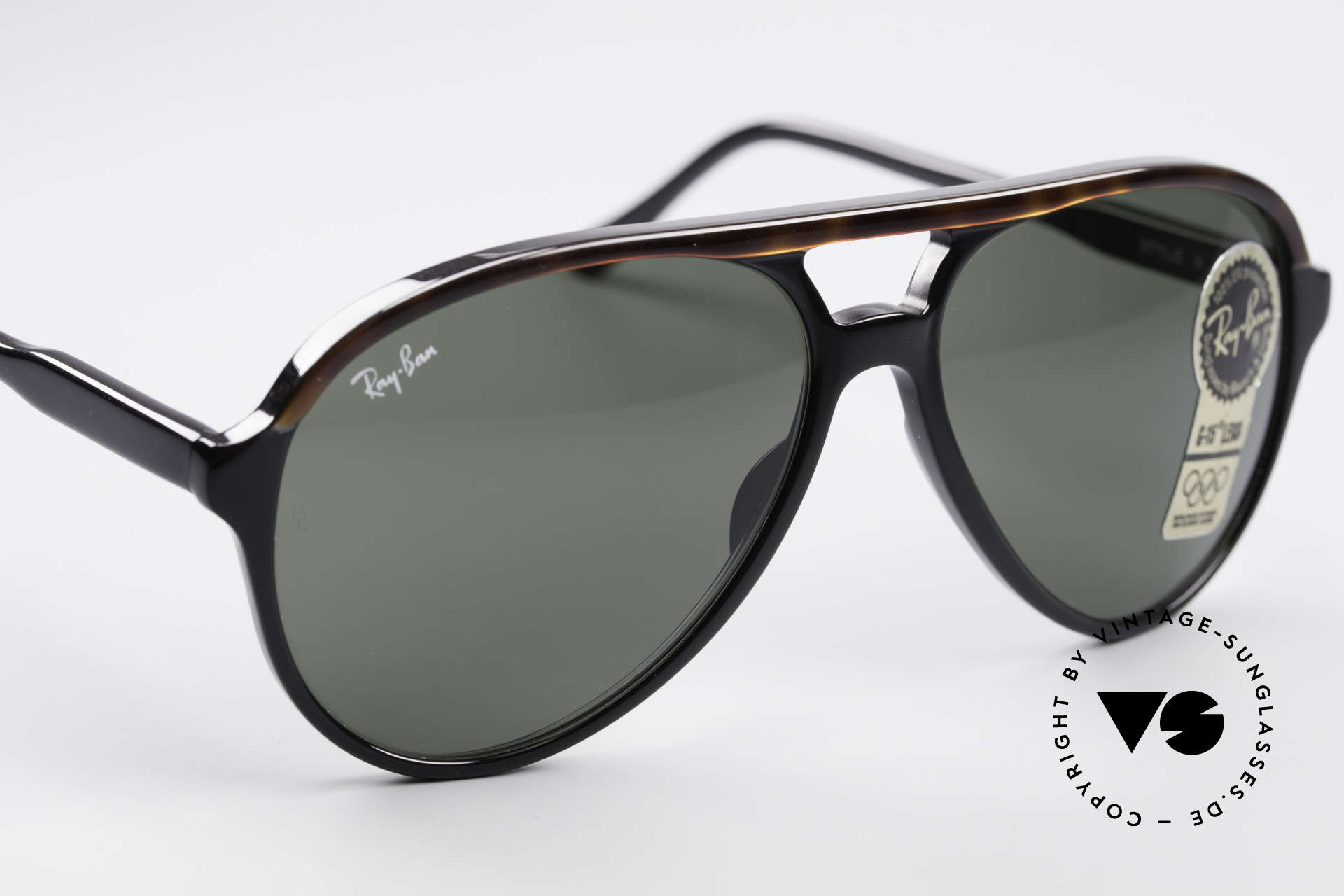 Ray Ban Traditionals Style A Old Aviator Sunglasses USA, NO RETRO shades, but a rare Bausch&Lomb original, Made for Men