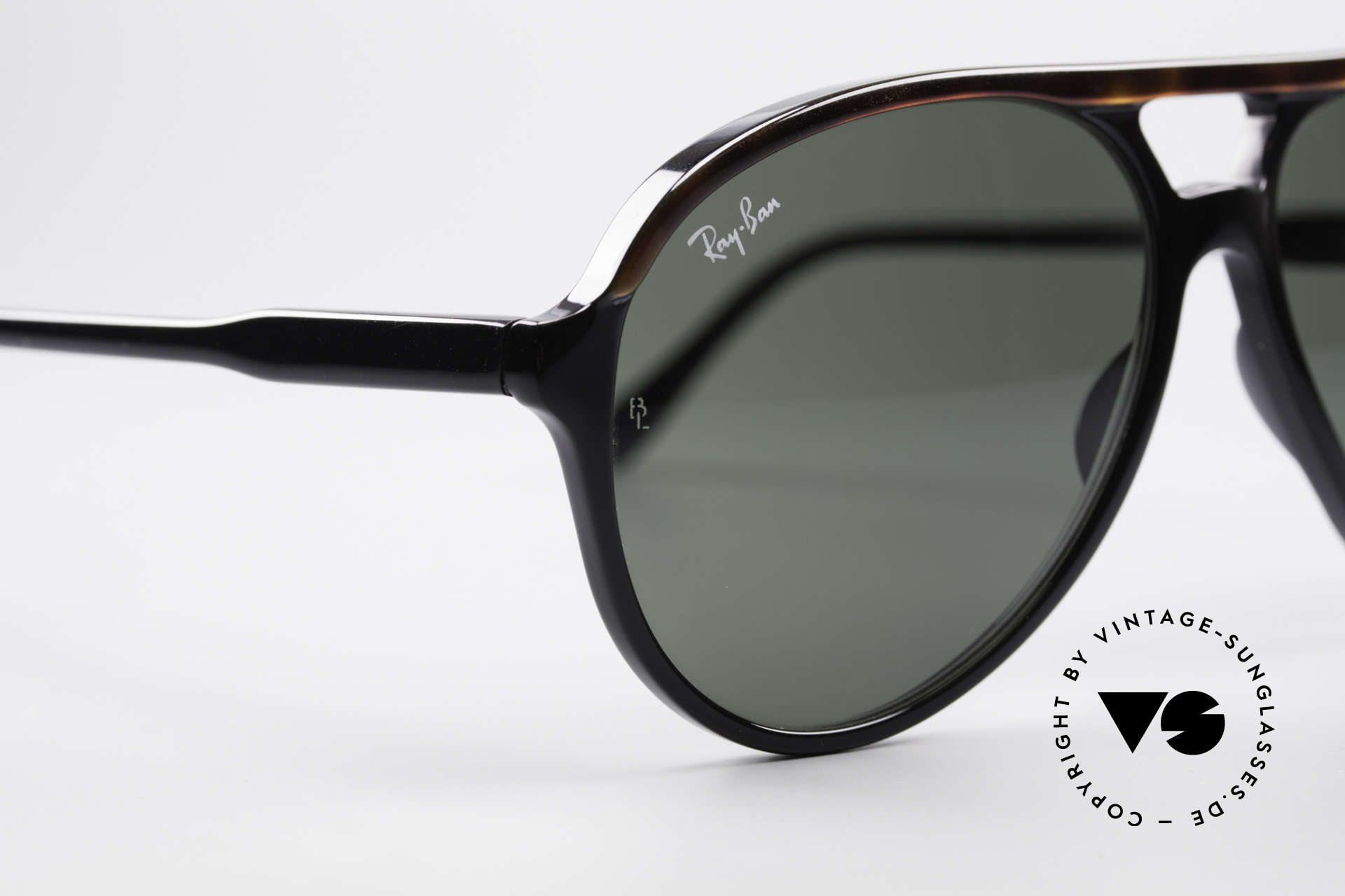 Ray Ban Traditionals Style A Old Aviator Sunglasses USA, orig. name: Traditionals Style A, L1668, G15, 59/15, Made for Men