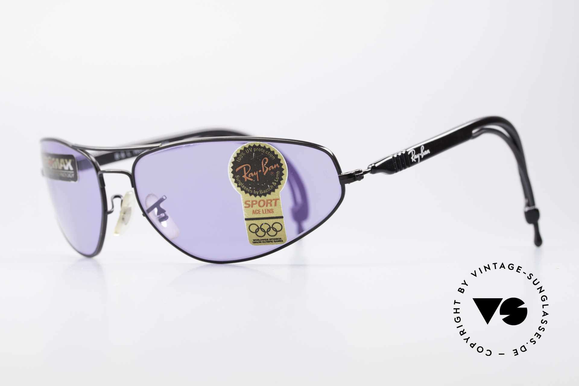 Ray Ban Sport Series 3 ACE Chromax B&L Sun Lenses, the B&L Chromax lenses intensify color contrasts, Made for Men