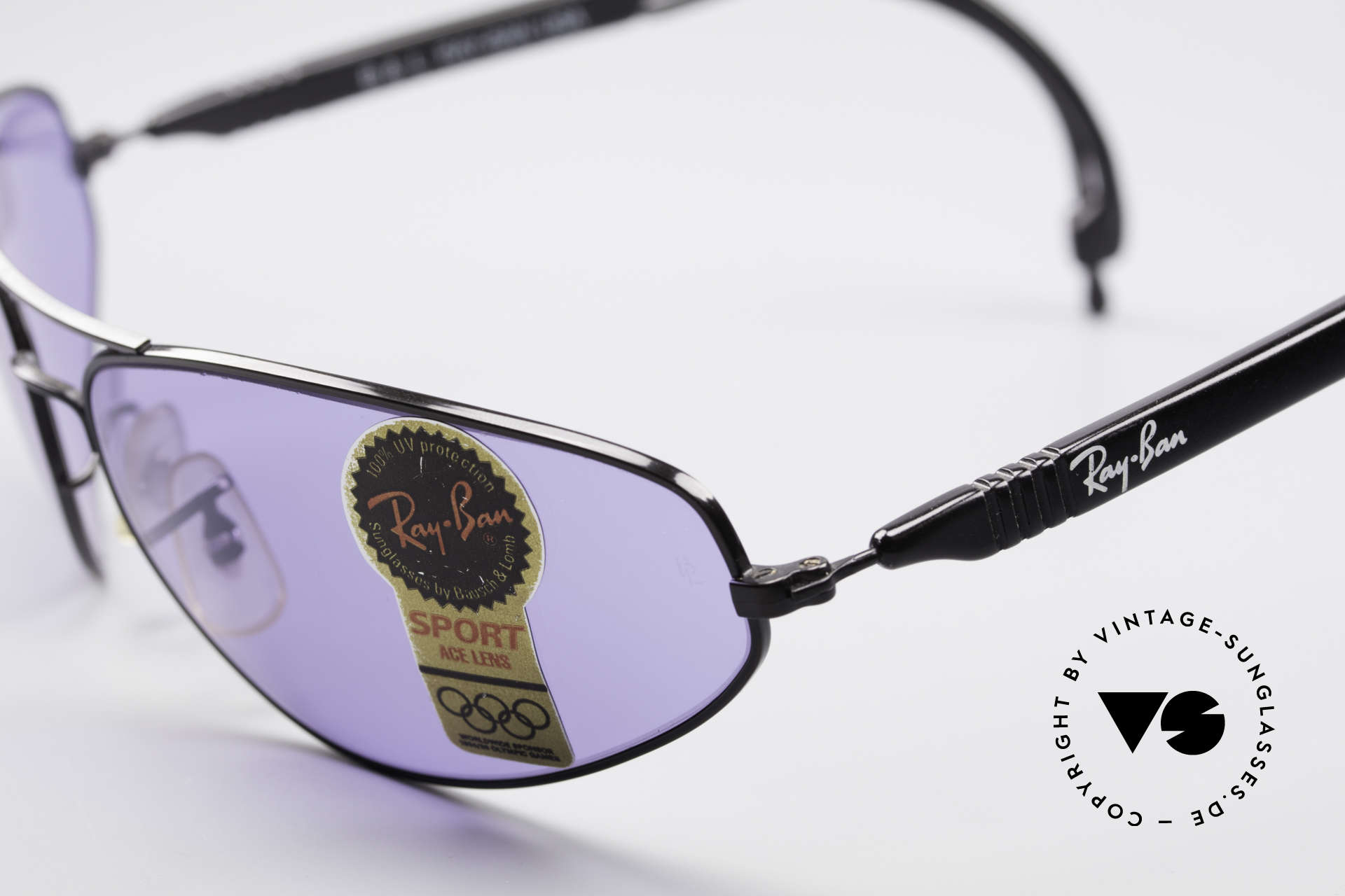 Ray Ban Sport Series 3 ACE Chromax B&L Sun Lenses, NO RETRO sunglasses, but an old USA-ORIGINAL, Made for Men